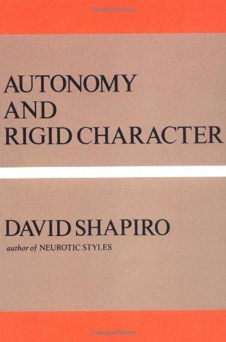 Autonomy And Rigid Character