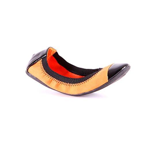 Design Baletti Jumexia Kengät Naisten Oranssi Tohvelit Asuntoja Uudet A8A7Xxwq