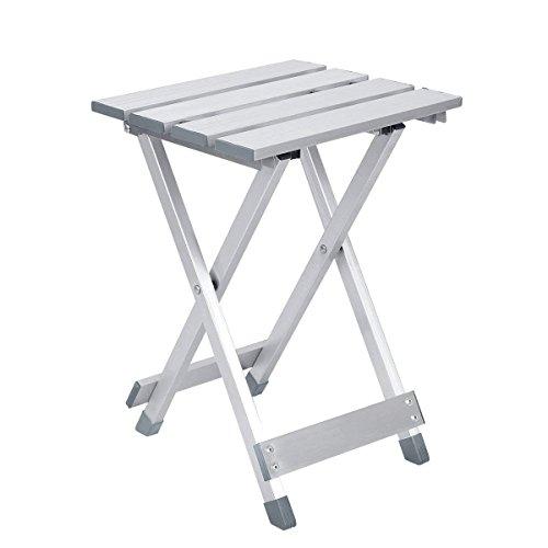 Aobeau Folding Aluminum Stool Portable Folding Chair Metal Mazar Outdoor Fishing Stool Leisure Stool Folding Stool by Aobeau