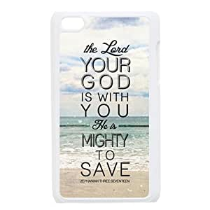 Bible Verse Durable Hard Shell iPod Touch 4 Case