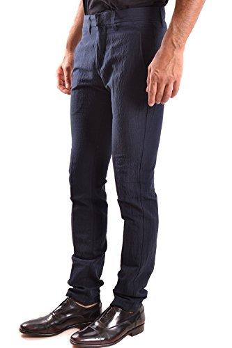 Dondup Homme MCBI100081O Noir Coton Pantalon
