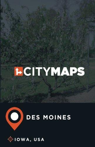 - City Maps Des Moines Iowa, USA