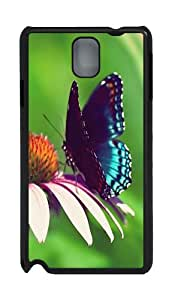Butterfly ID03 Custom Samsung Galaxy Note 3 N9000 Case Cover ¨C Polycarbonate ¨CBlack