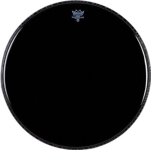 - Remo P31026-ES Ebony Powerstroke 3 Bass Drum Head - 26 Inch - Black Dynamo
