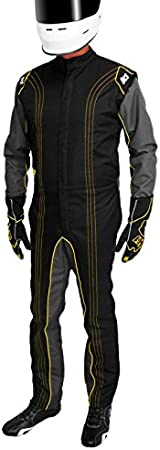 Red, XXX-Small K1 Race Gear CIK//FIA Level 2 Approved Kart Racing Suit