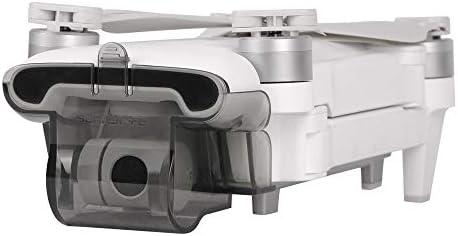 Hensych Gimbal Camera Protector für FIMI X8 SE, Kardanische Abdeckung Objektivkappe Sperre Wache für FIMI X8SE Drone (Transparent grau)