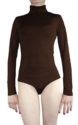 Muse – Body térmico elástico de manga larga y cuello alto para mujer, varias tallas y colores: Amazon.es: Ropa y accesorios
