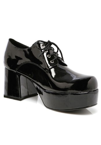 Mens Black Pimp Shoes X-Large