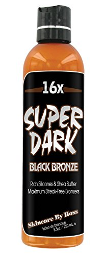 Super Dark 16x Black Bronzer 8oz