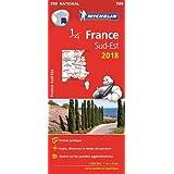 Carte France Sud-Est Michelin 2018
