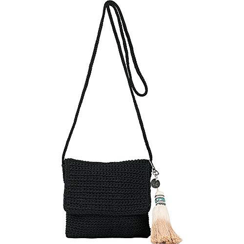 The Sak Costa Mesa Mini Flap (Black)