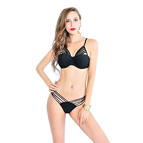 SW99057C1 Nylon Women's Bikini Swimsuit Size M