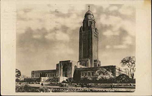 (Nebraska State Capitol Lincoln Original Vintage)