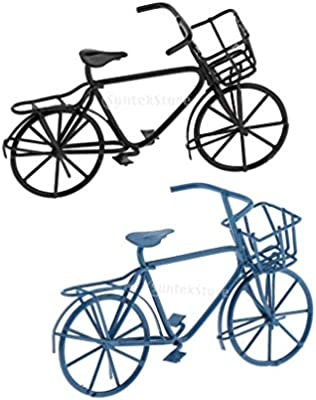 Amazon.es: F Fityle Escala 1/12 Modelo de 2 pcs Bicicleta Vintage ...