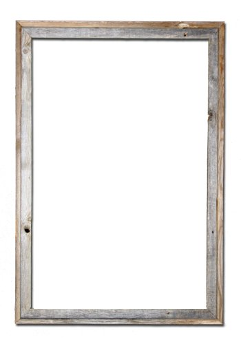 24x36 Picture Frames Signature Barnwood Reclaimed Open Frame No Plexiglass or Back