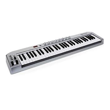 Schubert 61 teclado MIDI con 61 teclas, USB y pedal: Amazon.es: Instrumentos musicales