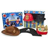 Melissa & Doug Top This! Role Play Hats,