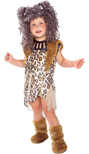 Cave Girl Costume - Child Small