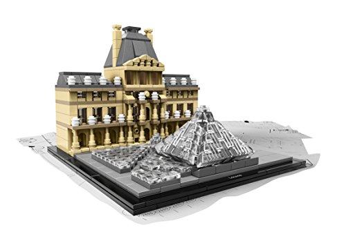 Amazon com: LEGO Architecture Louvre Building Set: Toys & Games
