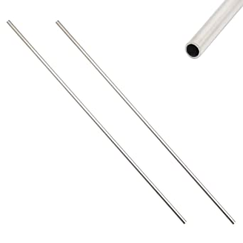 304 Stainless steel capillary tube OD 4mm x 2mm ID length 250mm metal tool HQP