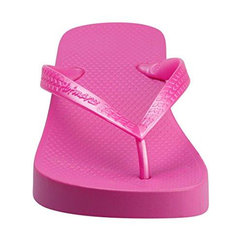 Plateforme D'Ete Flops Compensé Tongs Flip Femme Hotmarzz Talon Rouge Sandales Haut Rose Plage 5qU1nvt