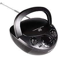 Laser CD Boombox with AM/FM Radio