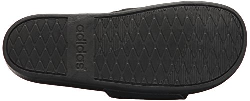 Adidas Kvinna Adilette Komfort Slide Sandal, Svart / Vit / Svart, 11 M Oss Kärna Svart, Guld Uppfyllda., Kärna Svart