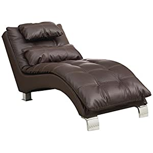 Coaster Home Furnishings Dilleston Pillow Top Chaise