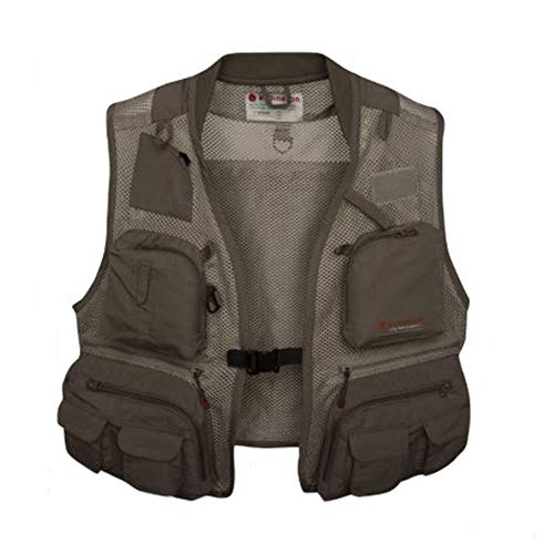 Vest Fly Fishing Outfitters - Redington First Run Vest - XX-Large/XXX-Large, Grit