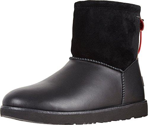 UGG Mens Classic Toggle Waterproof Rain Boot Black Size - Boots Fringed Mens