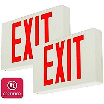 Etoplighting Led Exit Sign Emergency Light Lighting