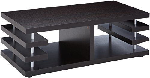 247SHOPATHOME IDI-11415CT Coffee-Tables, Cappuccino