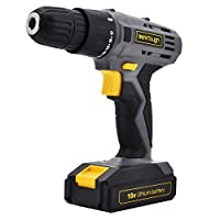 Werktough D018 Cordless Drill Driver 18V/20V Powerful Screwdriver With Lithium-Ion Battery and Charger