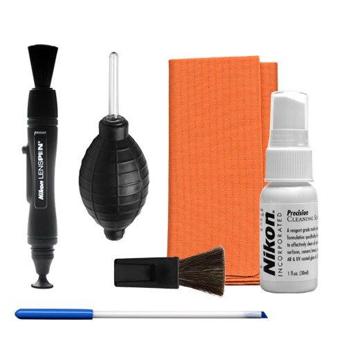 Nikon Cleaning Combo Kit: Nikon Optics Maintenance Kit + Lens Pen + Air Blower for D4S, D800, D610, D7100, D7000, D5300, D5200, D3300, D3200 Digital SLR Cameras, Lenses, Binoculars & Scopes ()