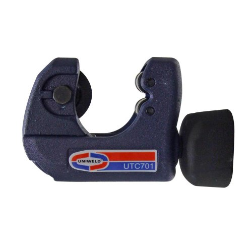 Uniweld UTC701 Premium Tubing Cutter Cuts 1/8 Inch to 1 Inch O.D. Copper, Brass, and Aluminum Tubing
