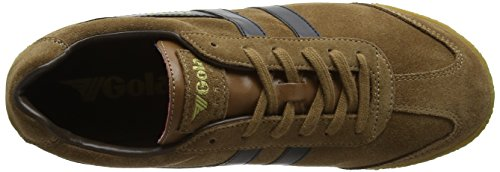 Gola Tobacco Fashion Harrier Sneaker Black Men's Brown Dark zqrzwpS