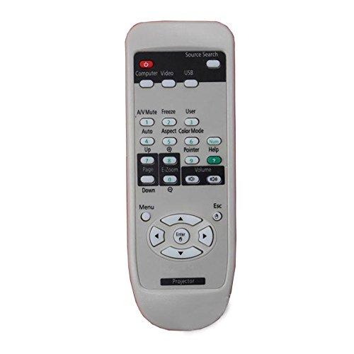 Projectors 8200 (CK Global Projector Remote Control for Epson Powerlite 9000 9000i 9000nl Powerlite 7350 Powerlite 500 500c Powerlite 8100i+NL 8100N LPowerlite 8200 8200i 8200nl EMP-70C Powerlite 820P)