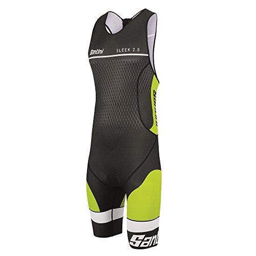 Santini Men's Sleek 2.0 Tri-suit XXX-Large - Wetsuits Clearance Tri