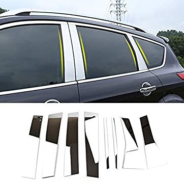 Generic Stainless Steel Chrome Rear Trunk Lid Molding Trim Fit For BMW X5 2014 2015 2016