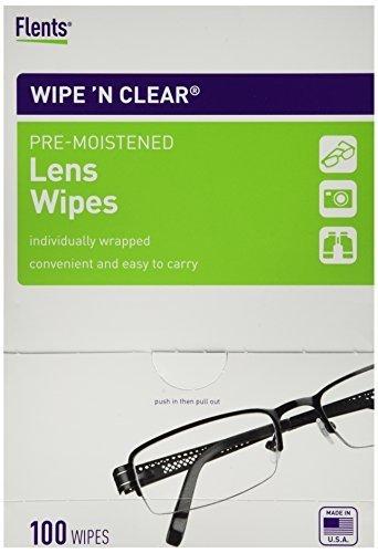 Flents Wipe N Clear 100 wipes 3 Pack