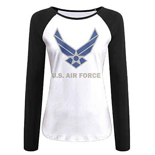 Film Strip Long Sleeve Shirt (Women's United States Air Force Symbol Long Sleeve Raglan Baseball T-shirt)