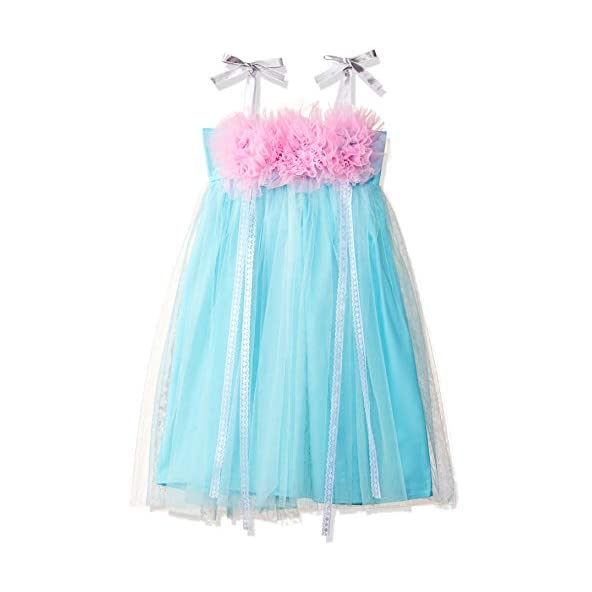 Barbie by Many Frocks & Baby Girls' Empire Maxi Dress