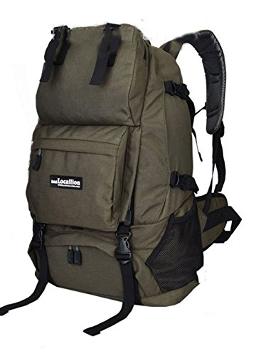 1637ab61c8fe LOCAL LION Outdoor Sports Hiking Climbing Cycling Layered Backpack Large  Capacity Knapsack Back Bags For Adventure Camping Travel Activities 40L ...