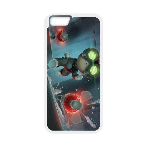 Stealth Inc. 2 A Game Of Clones coque iPhone 6 Plus 5.5 Inch cellulaire cas coque de téléphone cas blanche couverture de téléphone portable EEECBCAAN01334