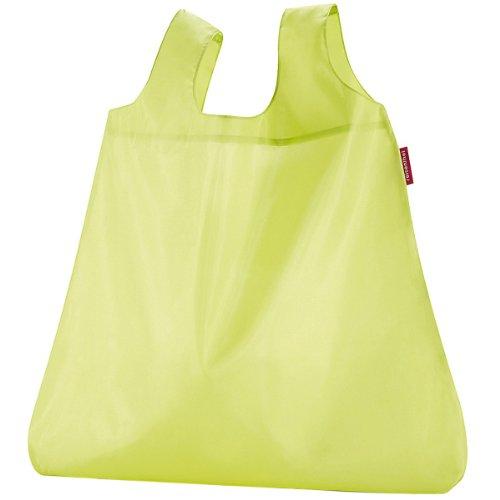 Reisenthel - Mini maxi shopper , bolsa de compras, bolso de compras , old style, aruba blue, ao4040 Verde