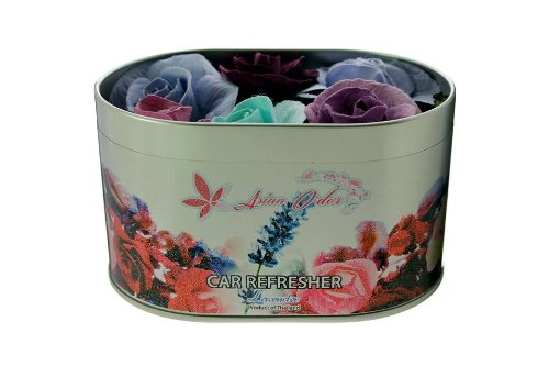 Lavender Mulberry - Lavender Car Refresher (Mulberry Paper and Pot Pourri) 25g.