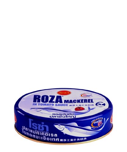 Roza Bigmack ,Canned Mackerel in Tomato Sauce - 7.76 Ounces (Pack of 3) by Roza