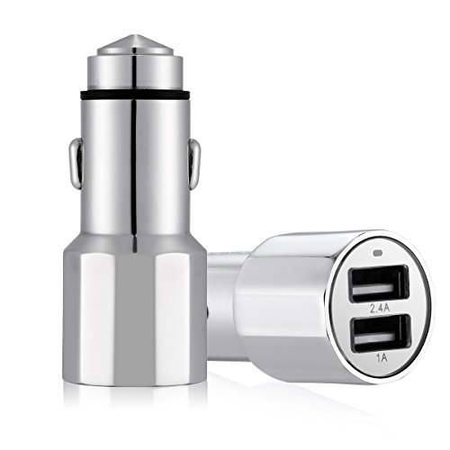 Poweradd Stainless Dual Port Charger Cigarette