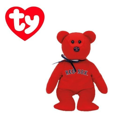 Boston Red Sox MLBBeanie Baby - Teddy Bear by TY (41709) ()