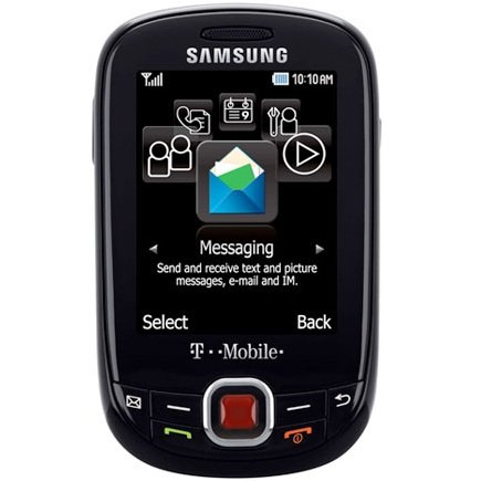 Samsung SGH-T359 Smiley : GSM Cell Phone Black T-Mobile New